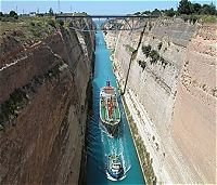 Corinth Canal - The Monday Special - Four days Classical Tour of Greece