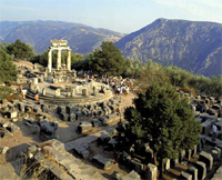 Delphi ruins - The two days tour to Delphi Greece