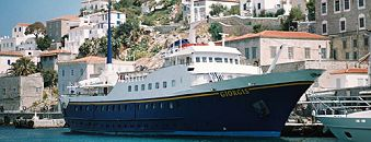 Details and photos of the one-day cruise to 3 Greek islands (Aegina, Poros, Hydra) with lunch