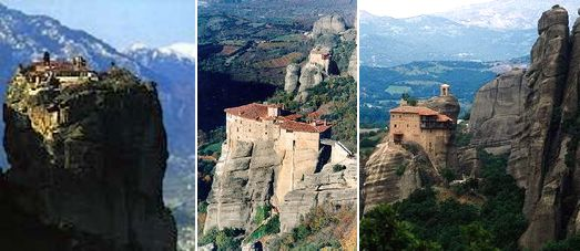 The Byzantine Meteora Monasteries - The Four days Classical Tour with Meteora